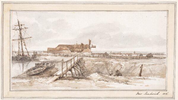 FINCH Hon. Daniel (1757-1840) - 'Near Sandwich', Kent.