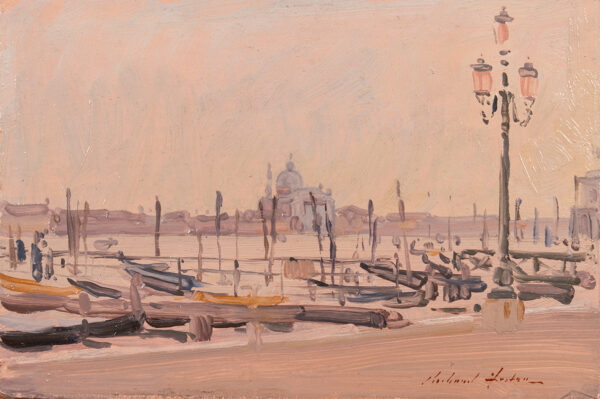 FOSTER Richard R.S.P.P. (b.1945) - 'The Redentore from the Piazzetta'.