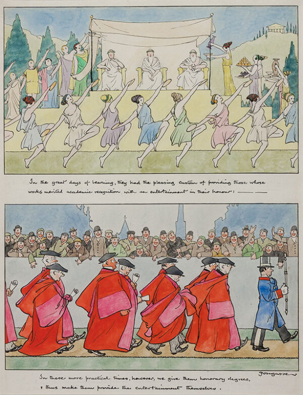 FOUGASSE (Cyril Kenneth Bird 1887-1965) - Degrees in Entertainment.
