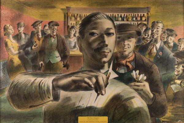 FREEDMAN Barnett (1901-1958) - 'The Darts Champion'.