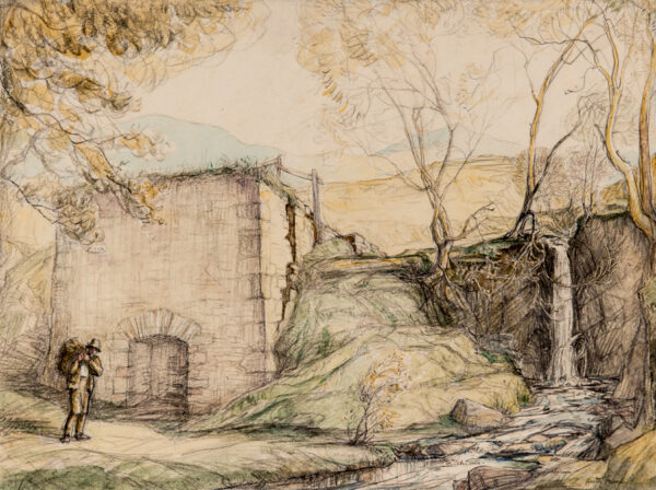 FROOD Hester (1882-1971) - 'The Little Waterfall'.