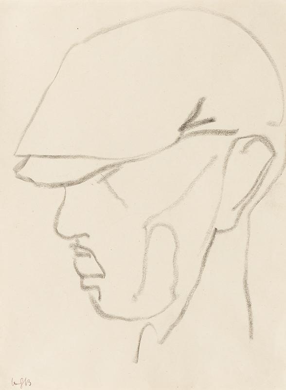 GAUDIER-BRZESKA Henri (1891-1915) - Head of a Man.
