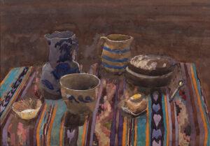 GAA Christa R.W.S. (1937-1882) - Table-top still life.
