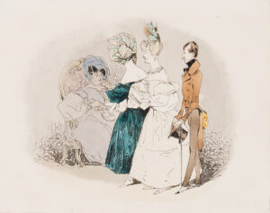GAGARIN Prince Grigory (1811-1893) - Society Promenade.