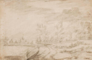 GAINSBOROUGH Thomas (1727-1788) (Follower of) - Landscape.