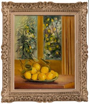 GALLIFANT Genevieve Marie (1888-1978) - 'Fenetre aux citrons'.