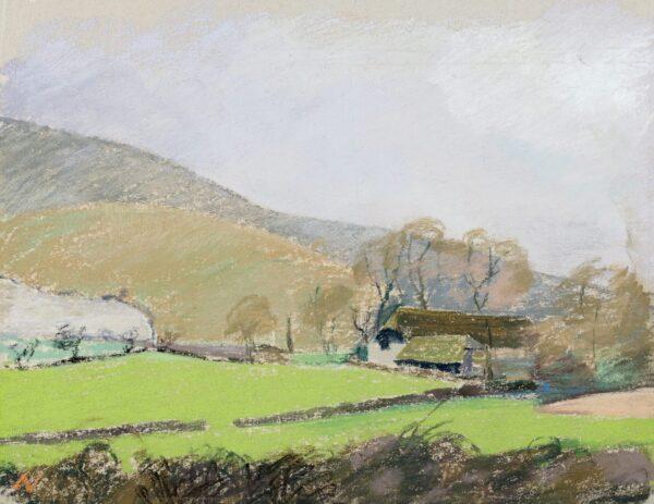 GARNETT Angelica (1918-2012) - 'Charleston Farm'.