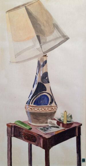 GARNETT Angelica (1918-2012) - 'Vanessa's Lamp'.