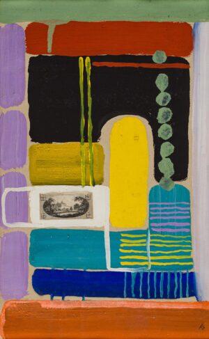 GARNETT Angelica (1918-2012) - 'The Doorway', Charleston, winter 1978/79.