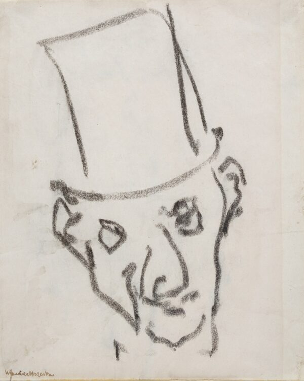 GAUDIER-BRZESKA Henri (1891-1915) - The Top Hat.