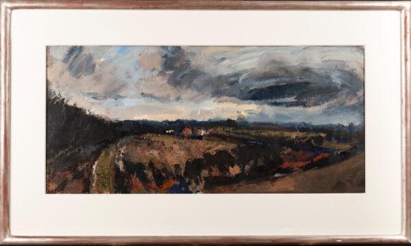 GAULT Annabel (b.1952) - 'Fields, Friston', Suffolk.