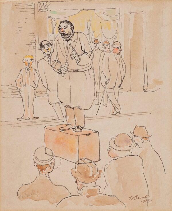 GAUNT William (1900-1980) - 'The Orator'.