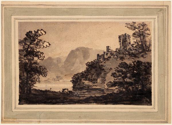 GILPIN William (1724-1804) - Picturesque landscape.