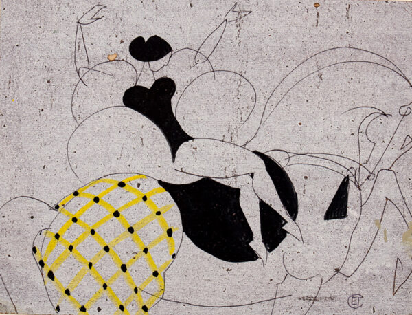 GOROKHOVA Elena, Artist's Union of St Petersburg, (1933-2014) - Circus Act.