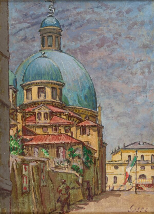 GOSSE Sylvia (1881-1968) - 'San Simeone, Venice'.
