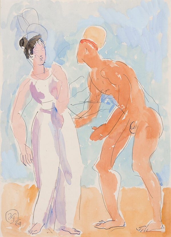 GRANT Duncan (1985-1978) - Isaac and Rebecca.