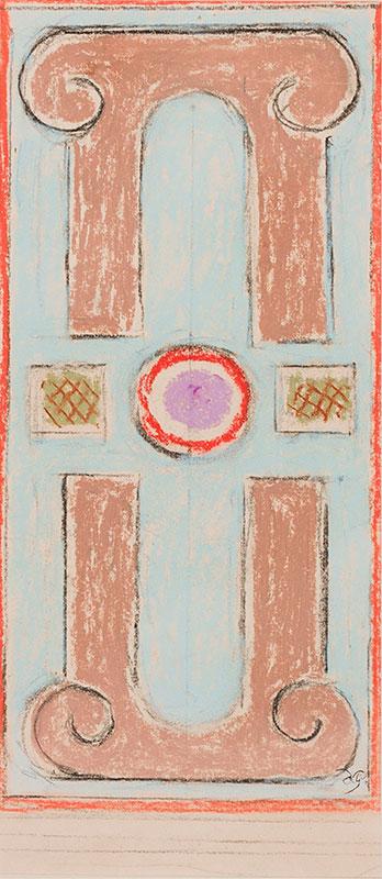 GRANT Duncan (1885-1978) - Design for a rug.