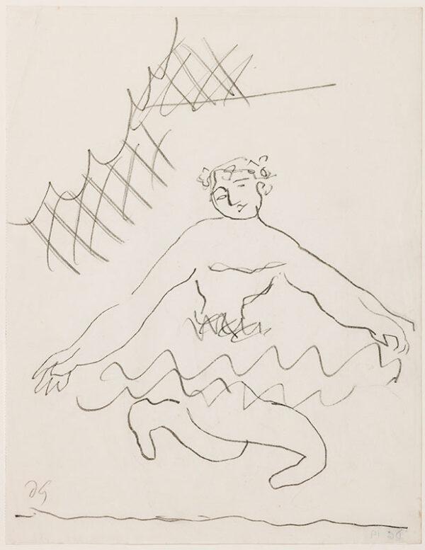 GRANT Duncan (1885-1978) - Dancer.