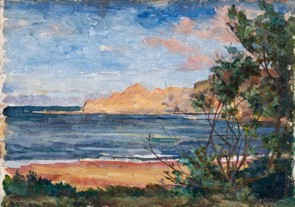 GRAY Vivian Seaton (1892-1949) - 'Runswick Bay', Whitby.