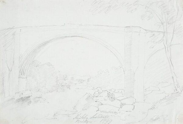 GREEN Amos (1735-1807) - 'Kirkby Lonsdale Bridge'.