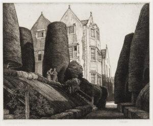 GRIGGS Frederick Landseer Maur Griggs R.A. R.E. (1876-1938) - 'Owlpen Manor' (C.