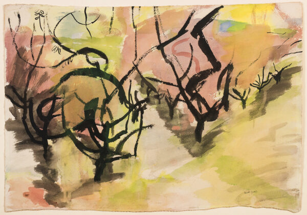 GROSS Anthony R.A. C.B.E. (1905-1984) - 'Orchard'.