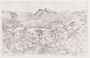 GROSS Anthony R.A. (1905-1984) - 'Little Serignac landscape' (RH7805).