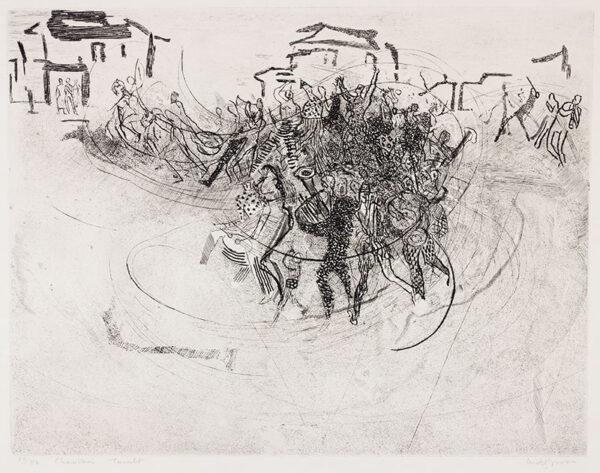 GROSS Anthony R.A. (1905-1984) - 'Charivari Tumult' (RH.