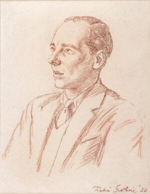 GUTHRIE Robin (1902-1971) - 'John Geilgud'.