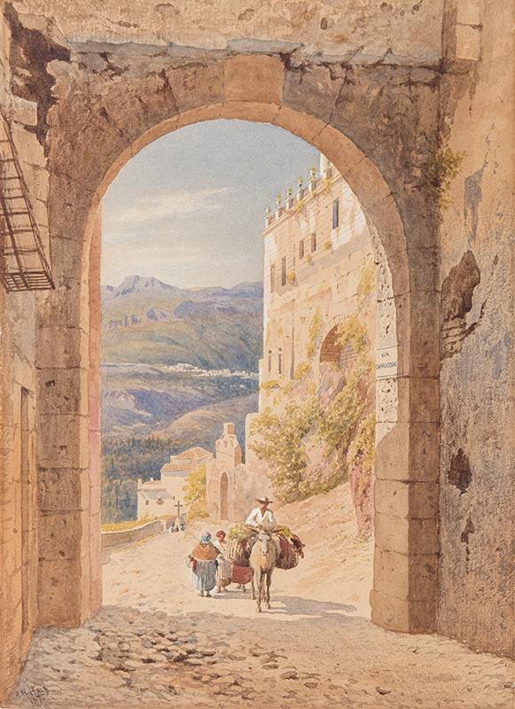 HAIG Axel Herman (1835-1921) - Sicily.