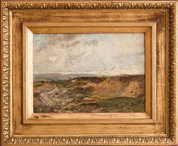 HALL Oliver R.W.S. R.E. (1869-1957) - 'Birkrigg Common, Lancashire'.