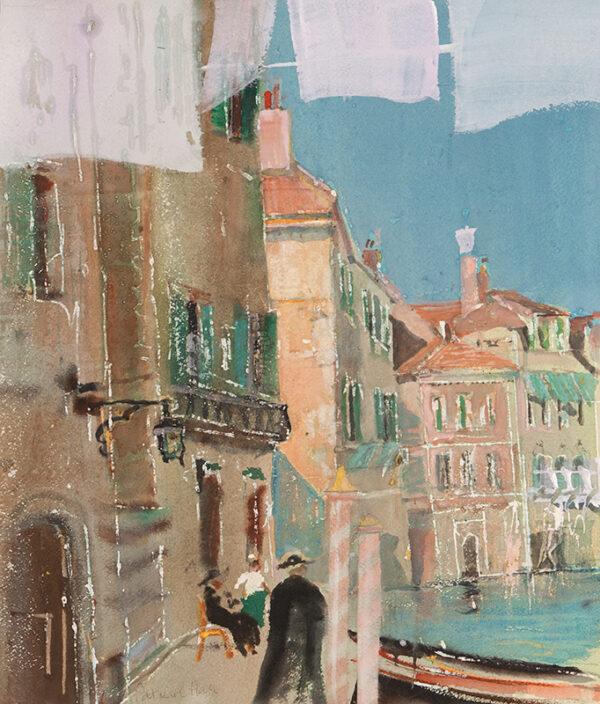 HALL Patrick (1906-1992) - 'Parish Duties, Venice'.