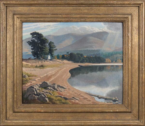 HALLIDAY Edward (1902-1984) - 'Loch Morlich'.