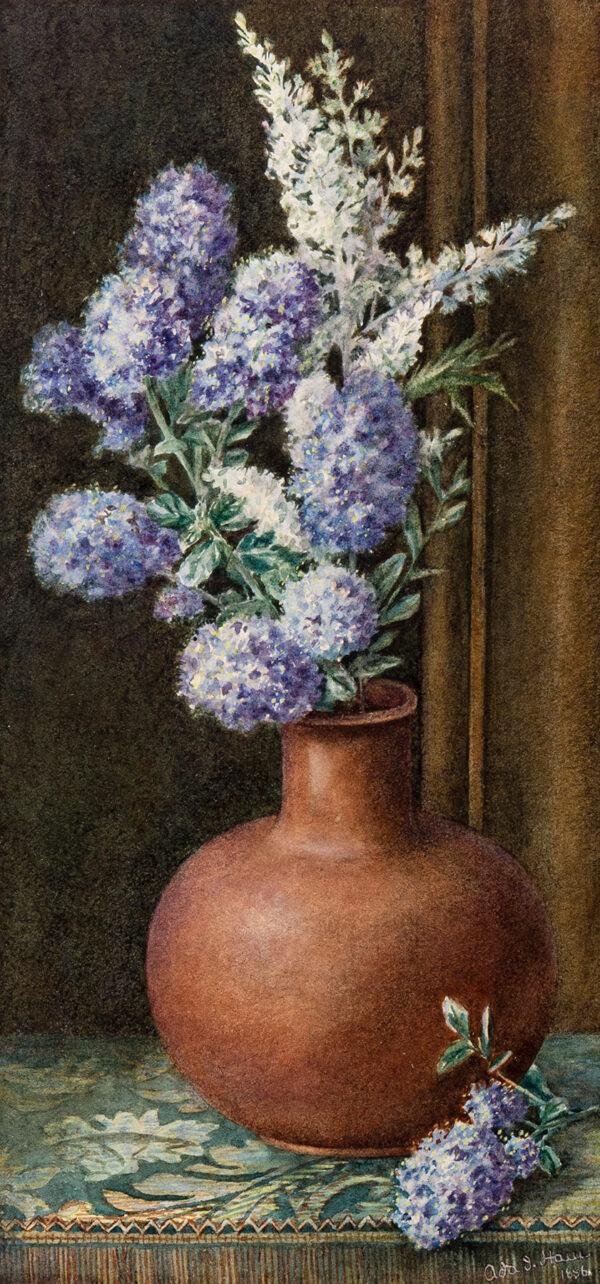 HAM Ada J (Exh. 1885-1888) - An Aesthetic Still-life.