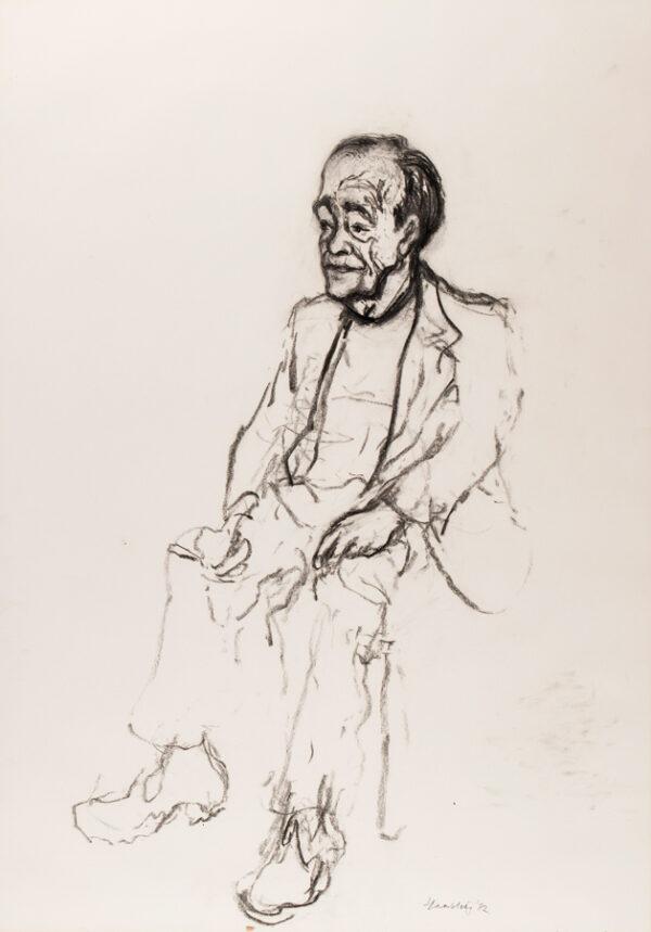 HAMBLING Maggi C.B.E. (b.1945) - 'Study from Life, Max sitting, 2'.