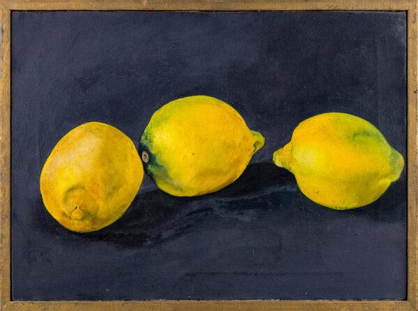HAMBLING Maggi CBE (b.1945) - '3 Lemons'.
