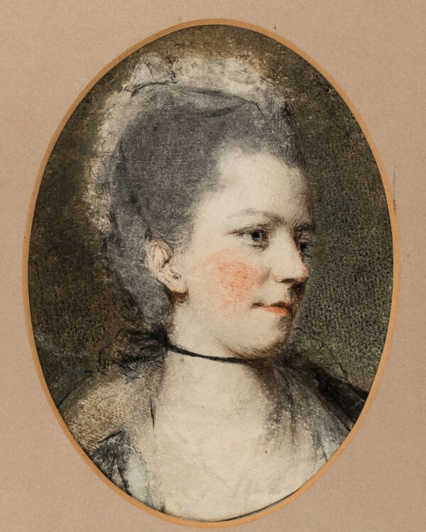 HAMILTON Hugh Douglas (1740-1808) (Circle of) - Head of a Lady.