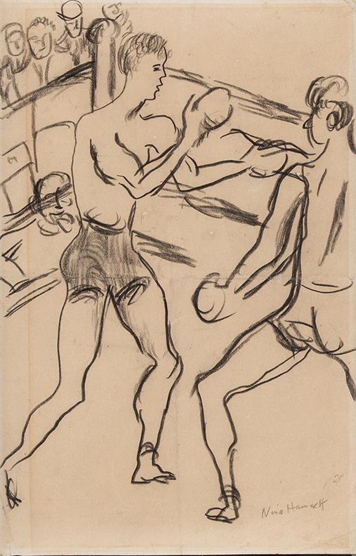 HAMNETT Nina (1890-1956) - Boxers.
