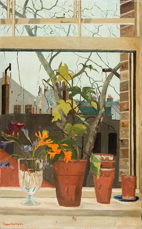 HANLEY Liam (b.1932) - Open Window.