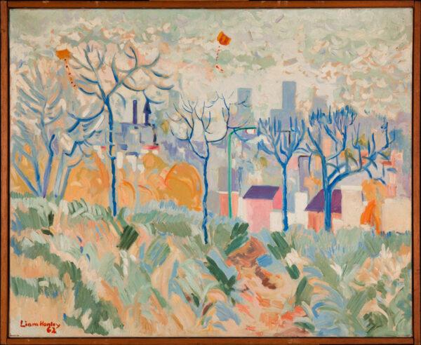 HANLEY Liam (b.1933) - The Park.