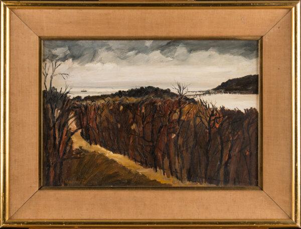 HANLEY Liam (b.1933) - 'Mawddach Estuary'.