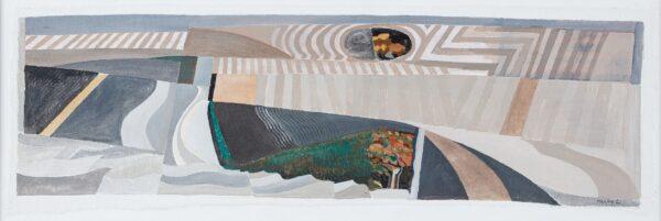 HANLEY Liam (b.1933) - Field Pattern, Hertfordshire.