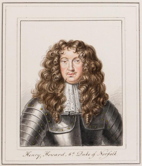 HARDING George Perfect (1779-1843) - 'Henry Howard, 6th Duke of Norfolk'.