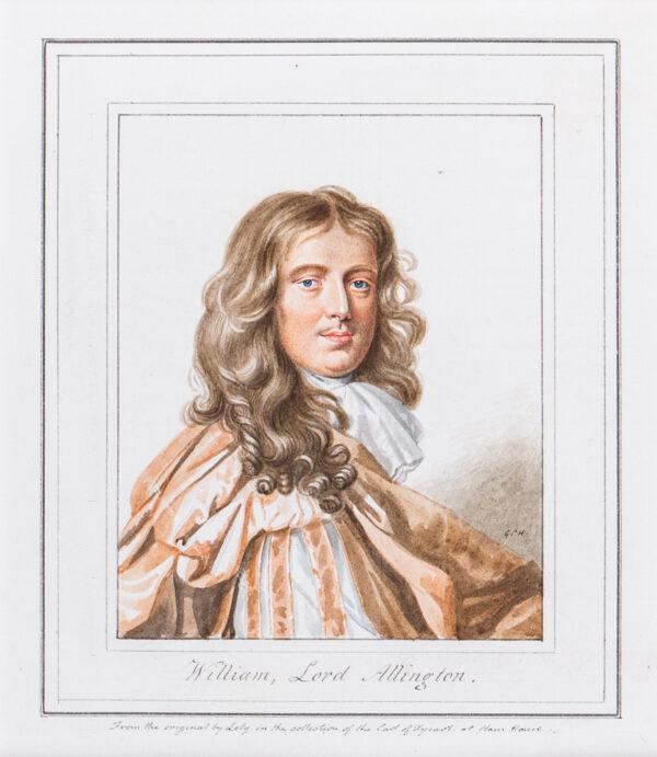 HARDING George Perfect (1780-1853) - 'William Lord Allington'.