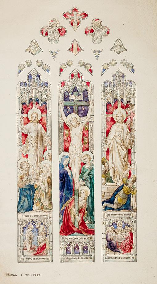 HARDMAN, John & Co. (1838-2008) - The Crucifixion.