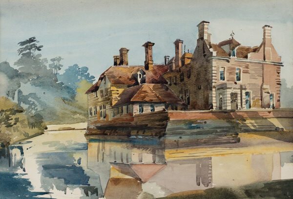 HARE Augustus Cuthbert (1834-1913) - Glassenbury Park House, near Goudhurst.