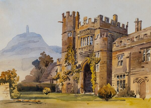 HARE Augustus (1834-1903) - 'Montacute Priory', Somerset.