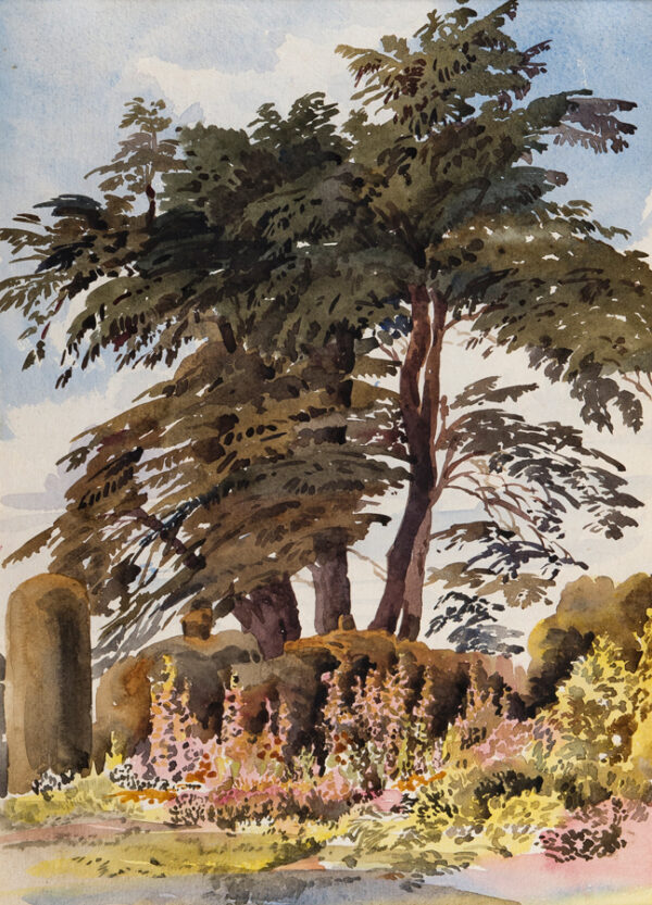 HARE Augustus (1834-1903) - Cedar and Yew.