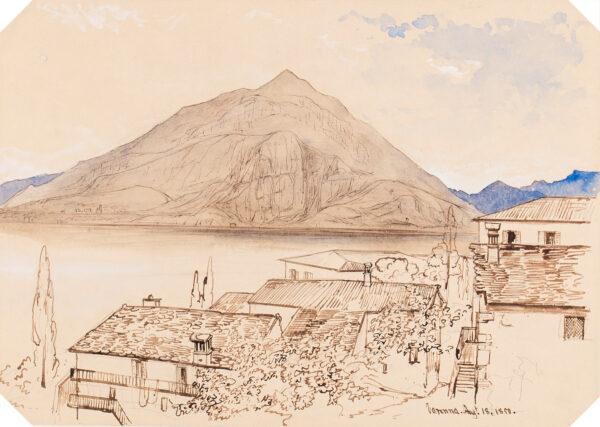 HARFORD John Scandrett F.R.S. (1785-1866) - 'Varenna'.