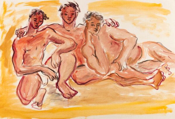HARRISON John Theodore (1914-2002) - Beach boys.